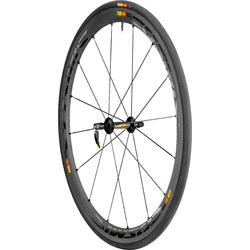 Mavic Cosmic Carbone 40 C Front Wheel/Tire (Clincher)