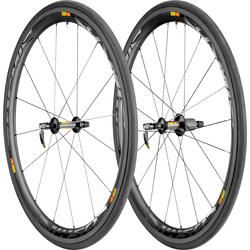 Mavic Cosmic Carbone 40 T Wheel/Tire Set (Tubular)