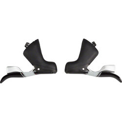 Microshift Centos 2x10 Drop Bar Shifters w/Inner Cable Routing
