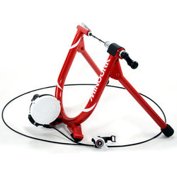 Minoura B60-R Bicycle Trainer with Remote and Rise Combo
