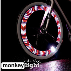 Monkeylectric M210 10-LED Bicycle wheel light