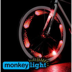 Monkeylectric M210 10-LED Bicycle Wheel Light Rechargeable