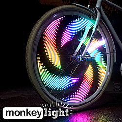 Monkeylectric M232 32-LED Bicycle Wheel Light Rechargeable