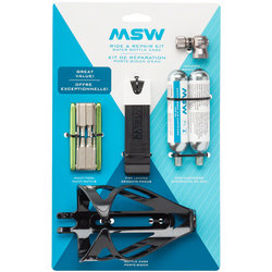 MSW Ride and Repair Kit w/Water Bottle Cage