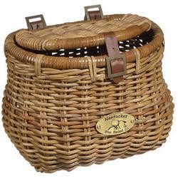 Nantucket Bike Basket Co. Cisco Madaket Creel Basket w/ Lid