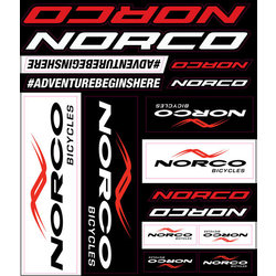 Norco Sticker Pack