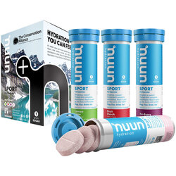 nuun Nuun Sport Mixed 4-Pack