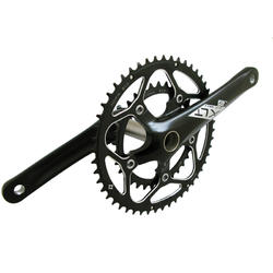 Origin8 XLT Road Compact Crankset - 110mm BCD/5-Bolt (50/34)