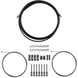 Origin8 Slick Compressionless 2x Gear Cable/Housing Kit