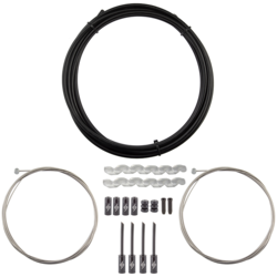 Origin8 Slick Compressionless MTB Brake Cable/Housing Kit