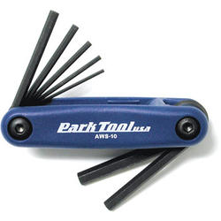Park Tool Folding Hex Wrench Set (1.5-6mm)