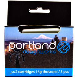 Portland Design Works Co2 Cartridge 3 Pack