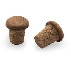 Portland Design Works Bamboo/Cork Bar Plugs