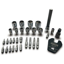 Pedro's Pro Bit and Socket Set - 31 Piece