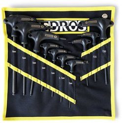 Pedro's Pro T/L Handle Hex & Torx Set w/Pouch