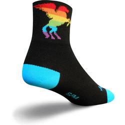 SockGuy Pegasus Rainbow Socks