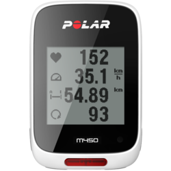 Polar M450 GPS Bike Computer with Heart Rate Sensor