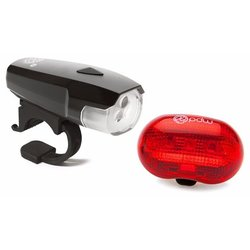 Portland Design Works Spaceship 3 Headlight/Red Planet Taillight Set