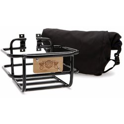 Portland Design Works Takeout Front Basket w/Roll-Top Bag