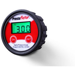 Prestacycle Prestaflator Digital Gauge for Air Compressors & Floor Pumps