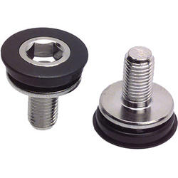 Problem Solvers 8mm Hex Crank Arm Fixing Bolt & Cap (pair)