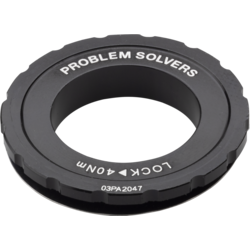 Problem Solvers Center Lock Rotor Lock Ring - 12 – 20mm Axle