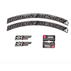 Profile Design 38/TwentyFour Series Wheel Decal