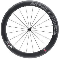 Profile Design 58/TwentyFour Full Carbon Front Wheel (Clincher)