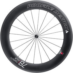 Profile Design 78/TwentyFour Full Carbon Front Wheel (Clincher)
