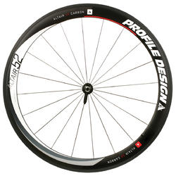 Profile Design Altair 52 Carbon Clincher Front Wheel