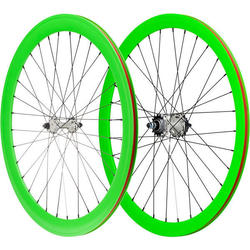 Pure Cycles 700c 40mm Glow Wheelset