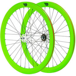Pure Cycles 700c 50mm Glow Wheelset