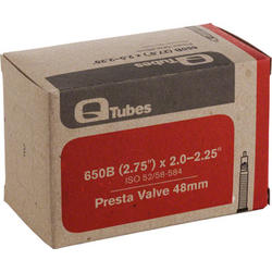 Q-Tubes Tube (27.5 x 2.0-2.25 inch, Presta Valve) (650B)