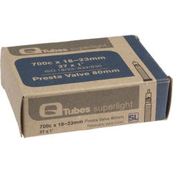 Q-Tubes Superlight Tube (700c x 18-23mm, Presta Valve)
