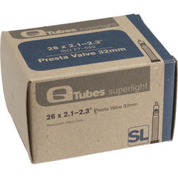 Q-Tubes Superlight Tube (26 x 2.1-2.3 inch, 32mm Presta Valve)