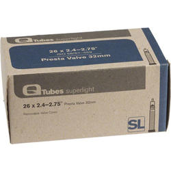 Q-Tubes Superlight Tube (26 x 2.4-2.7 inch, 32mm Presta Valve)