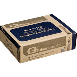 Q-Tubes Superlight Tube (20 x 1-1/8 inch, Presta Valve)