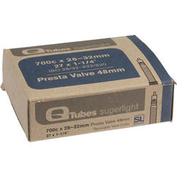 Q-Tubes Superlight Tube (700c x 28-32mm, Presta Valve)
