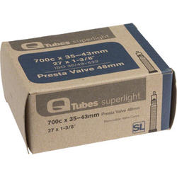 Q-Tubes Superlight Tube (700c x 35-43mm, Presta Valve)