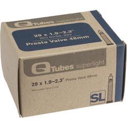 Q-Tubes Superlight Tube (29 x 1.9-2.3 inch, Presta Valve)