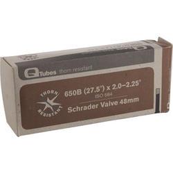 Q-Tubes Thorn Resistant Tube (27.5 x 2.0-2.25 inch, 48mm Schrader Valve) (650B)