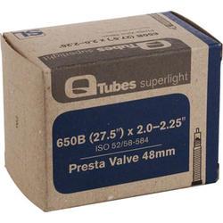 Q-Tubes Superlight Tube (27.5 x 2.0-2.25 inch, Presta Valve) (650B)