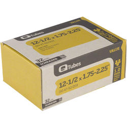 Q-Tubes Value Series Tube (12-1/2-inch x 1.75-2.125 Schrader Valve)