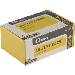 Q-Tubes Value Series Tube (16-inch x 1.75-2.125 Schrader Valve)