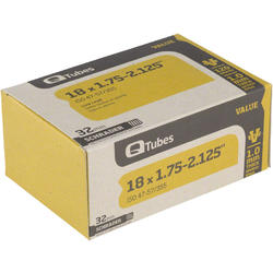 Q-Tubes Values Series Tube (18-inch x 1.75-2.125 Schrader Valve)