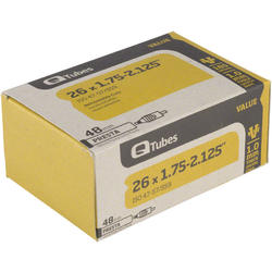 Q-Tubes Values Series Tube (26-inch x 1.5-1.75 Presta Valve)