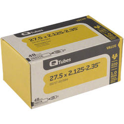 Q-Tubes Values Series Tube (27.5-inch x 2.125-2.35 Presta Valve)