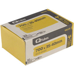 Q-Tubes Values Series Tube (700C x 28-32 Presta Valve)