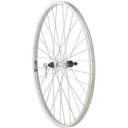 Quality Wheels Formula 135mm Freehub / Alex Y2000 Silver 700c Rear