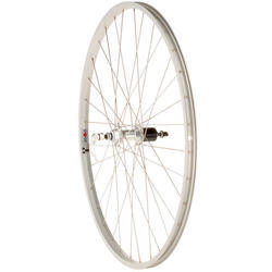 Quality Wheels Formula 130mm Freehub / Alex Y2000 Silver 700c Rear